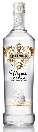 Smirnoff Vodka Whipped Cream